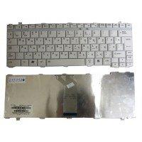 Клавиатура для ноутбука Toshiba Satellite A10, А15, А20, А25, А30, А35, А40, А45, А45, А50, А55, А60, А65, А70, А75, А80, 1400, 1900, 2400, М30, М35х, М40 (RU) белая