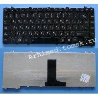 Клавиатура для ноутбука Toshiba C600D C640 C645 L600 L630 L640 (RU) черная [10464]