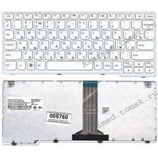 Клавиатура Lenovo IdeaPad S11 (RU) белая