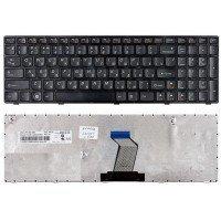 Клавиатура Lenovo IdeaPad B570, V570, Z570, Z575 (RU) черная (серая рамка)