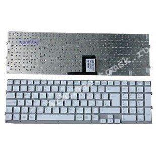 Клавиатура для ноутбука Sony Vaio VGN-EC (RU) белая, без рамки