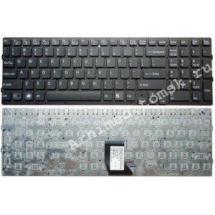 Клавиатура для ноутбука Sony Vaio VPC-CB (RU) черная, без рамки