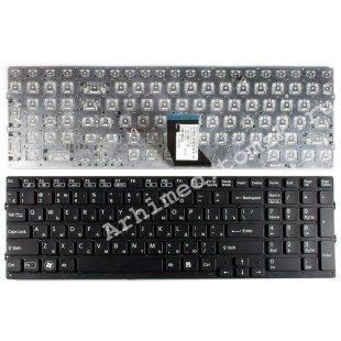 Клавиатура для ноутбука Sony Vaio VPC-CB17 (RU) черная, без рамки