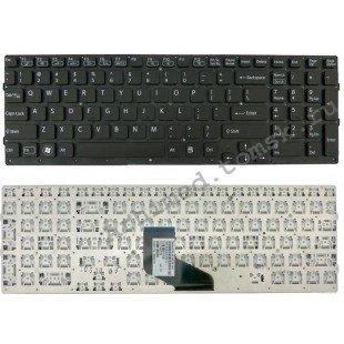 Клавиатура для ноутбука Sony Vaio VPC-F219FC (RU) черная, без рамки