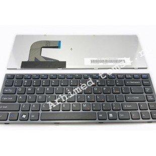 Клавиатура для ноутбука Sony Vaio VPC-S (RU) черная, черная рамка