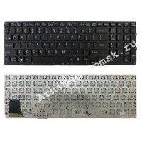 Клавиатура для ноутбука Sony Vaio VPC-SE (RU) черная, без рамки