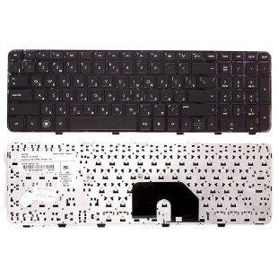 Клавиатура HP Pavilion DV6-6000 (RU) черная, черная рамка [10035]