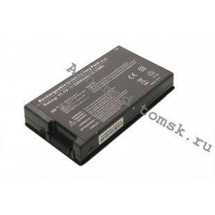 Аккумуляторная батарея для ноутбука Asus A8, F8, F50, F80, F81, L80, N80, N81, X61, X80, X81, X83 (11.1 В 5200 мАч)