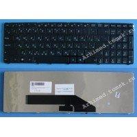 Клавиатура для ноутбука Asus K50, K51, K50AB, K50C, K50IN, K50IJ, K50IN, K60, K61, K62, K70, K70IJ, K72, N51, G70, F52, F52G, F90, X5D, X5DC, X5DIJ, X50IJ, X5DIN, X70 (RU) черная [10039]