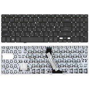Клавиатура для ноутбука Acer Aspire V5-531, V5-551, V5-571, M5-581T (RU) черная, без рамки