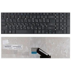 Клавиатура для ноутбука Acer Aspire 5755, 5830, V3-551G, V3-571G, V3-531G, V3-771G (RU) черная, без рамки [10044]