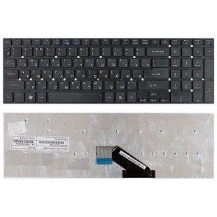 Клавиатура для ноутбука Acer Aspire 5755, 5830, V3-551G, V3-571G, V3-531G, V3-771G (RU) черная, без рамки
