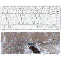 Клавиатура для ноутбука Packard Bell EasyNote NM85 NM87 (RU) белая