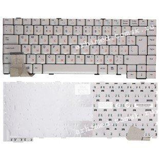 Клавиатура для ноутбука Packard Bell 7521,6020,6021 (RU) белая