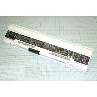 Аккумуляторная батарея для ноутбука Asus Eee PC 1025C белая  (10.8 В 2600 мАч)