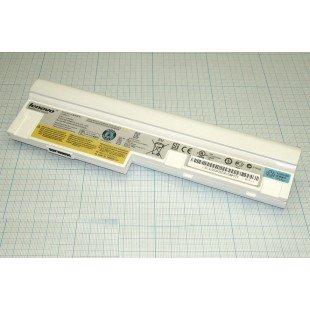 Аккумуляторная батарея для ноутбука Lenovo-IBM L09C6Y14 IdeaPad S10-3 белая 48Wh (10.8-11.1 В 4400 мАч)