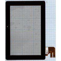 Сенсорное стекло (тачскрин) для планшета ASUS Transformer Pad TF300T черный G01 [T0813-1]