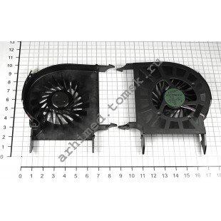 Вентилятор (кулер) для ноутбука HP DV6 Series DV6-1000 DV6-1200 DV6-2000 с процессором AMD, 4 ушка [F0020]