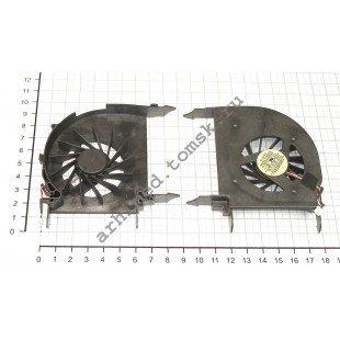 Вентилятор (кулер) для ноутбука HP Pavilion DV7-2000 (с дискретной (отдельной) видеокартой)