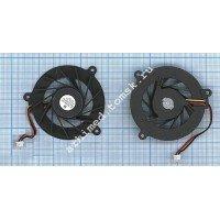 Вентилятор (кулер) для ноутбука ASUS F3J A8 (3 Pin, короткий провод) [F0011]