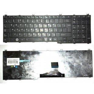 *Б/У* Клавиатура для ноутбука Toshiba Satellite C650, C660, C670, C750, L650, L670, L750, L770 (RU) черная (PK130CK3A11)