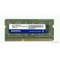 *Б/У* Оперативная память SODIMM 2Gb (1333MHz) DDR3 ADATA AD73I1B0873EV 1R*8 PC3-10600S-999 [BUR0054-17], с разбора