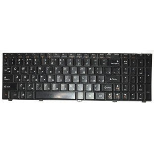 *Б/У* Клавиатура для ноутбука Lenovo IdeaPad G560, G560A, G560E, G565, G565A (RU) черная (25-011416)