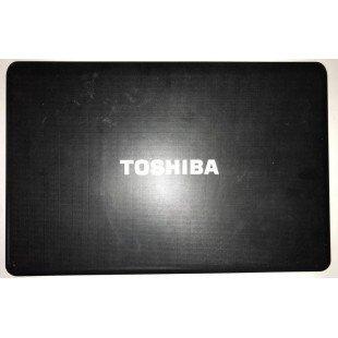 *Б/У* Крышка матрицы (A cover) для ноутбука Toshiba Satellite A660, C660, C660D (AP0H0000100)