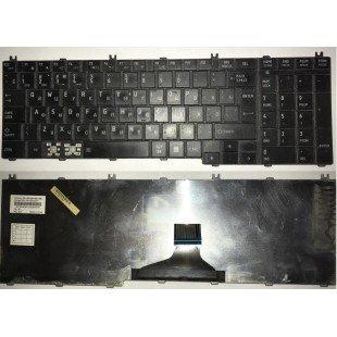 *Б/У* Клавиатура для ноутбука Toshiba Satellite C650, C660, C670, C750, L650, L670, L750, L770 (RU) черная (PK130CK2A11)
