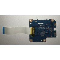 *Б/У* USB плата для ноутбука Lenovo Y570 (PIQY1 LS-6887P) [BUR0061-8], с разбора