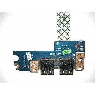 *Б/У* USB плата для ноутбука Acer Aspire E1-571, E1-571G (LS-7911P)