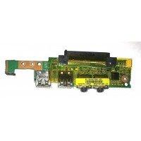 *Б/У* USB + Audio плата для ноутбука Asus Eee PC 1005HA, 1005HAG (08G2035HA13C) [BUR0064-18], с разбора