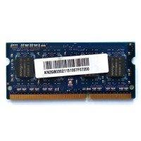 *Б/У* Оперативная память SODIMM 2Gb (1333MHz) DDR3 Nanya NT2GC64B88B0NS-CG 1R*8 PC3-10600S-9-10-B2 [BUR0001-42], с разбора
