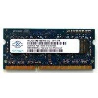 *Б/У* Оперативная память SODIMM 2Gb (1333MHz) DDR3 Nanya NT2GC64B88B0NS-CG 1R*8 PC3-10600S-9-10-B2 [BUR0065-7], с разбора