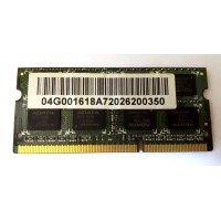 *Б/У* Оперативная память SODIMM 2Gb (1333MHz) DDR3 ADATA AD73I1B1672EG 2R*8 PC3-10600S-999 [BUR0069-17], с разбора
