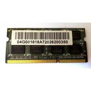 *Б/У* Оперативная память SODIMM 2Gb (1333MHz) DDR3 ADATA AD73I1B1672EG 2R*8 PC3-10600S-999