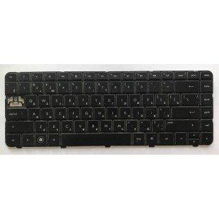 *Б/У* Клавиатура для ноутбука HP G4, G6, G4-1000, G6-1000 (RU) черная (636376-251)