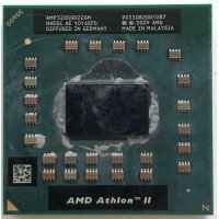Процессор для ноутбука AMD Athlon II Dual-Core Mobile AMP320SGR22GM P320 Socket S1 (S1g4) (2.10 GHz) [BUR0071-11], с разбора