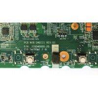 *Б/У* Материнская плата для ноутбука DNS 0135730 (PCB M/B MT40II1 REV:02) [BUR0104-2], с разбора, неисправная