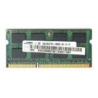 *Б/У* Оперативная память SODIMM 2Gb (1333MHz) DDR3 Samsung M471B5673FH0-СH9 PC3-10600S-09-10-F2 [BUR0001-32], с разбора