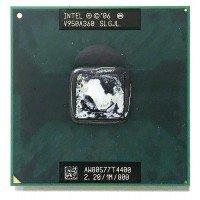 Процессор для ноутбука Intel Pentium Dual-Core Mobile T4400 SLGJL Socket P (2.20 GHz), с разбора
