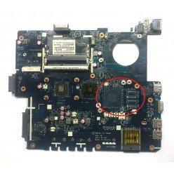*Б/У* Материнская плата для ноутбука Asus X53U (60-N58MB2100-B02EMS) [BUR0202-1], с разбора, исправная
