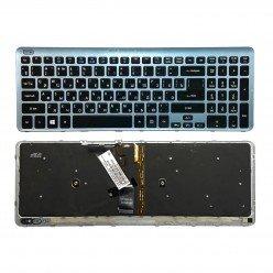 *Б/У* Клавиатура для ноутбука Acer Aspire V5-531G, V5-551G, V5-571G (NSK-R3KBW 0R), с подсветкой [BUR0251-6], с разбора