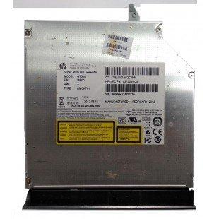 *Б/У* Привод DVD/RW + крышка привода для ноутбука HP Compaq Presario CQ57 (657534-6C0), с разбора