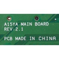 *Б/У* Материнская плата для ноутбука DNS 0158957 (A15YA MAIN BOARD REV: 2.1) [BUR0047-6], с разбора
