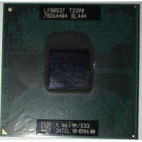 Процессор для ноутбука Intel Pentium Dual-Core Mobile SLA4H T2390 Socket P (1.86 GHz) [BUR0067-9], с разбора
