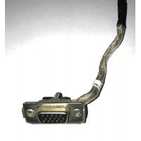 *Б/У* VGA port кабель для ноутбука Toshiba Satellite L350, L350-146 (6017B0148401) [BUR0067-10], с разбора