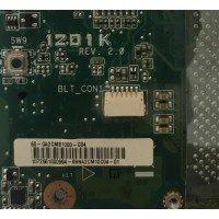 *Б/У* Материнская плата для ноутбука Asus Eee PC 1201K (60-QA2CMB1000-C04) [BUR0072-11], с разбора, неисправная