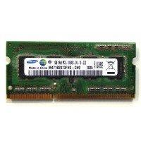 *Б/У* Оперативная память SODIMM 1GB (1333MHz) DDR3 Samsung M471B2873FHS-CH9 1R*8 PC3-10600S [BUR0107-25], с разбора