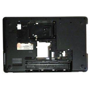 *Б/У* Поддон (нижний корпус, D cover) для ноутбука HP Compaq Presario CQ57 (646114-001), с разбора